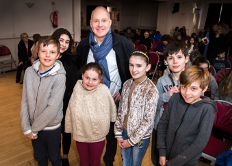 David Yates and the winners of movie makers competition